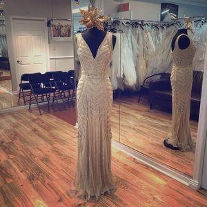 Dresses & Skirts - Beaded formal dress.